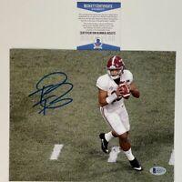 Autographed/Signed TUA TAGOVAILOA Alabama Crimson Tide 8x10 Photo Beckett COA #2