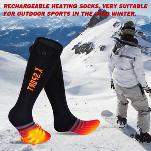 Electric Heated Socks Battery Socks Rechargeable Socks Men Ladies Thermal Winter