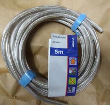 5m flexible Anschlußleitung BRAUN H03VV-F 3G0,75mm² Elektro-Kabel 230V 1,59€//m