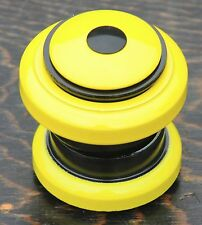 "Yellow 1 1/8"" HEADSET Threadless Fork Vintage MTB Fixie Bicycle Cruiser Bike BMX"