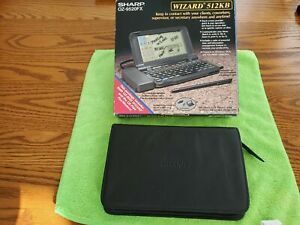 Sharp Wizard Data Organizer Portable Fax Computer  OZ-9520FX 512KB EUC