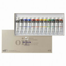 ShinHan Professional Oil Paint Painting 12 Color 20ml/0.68fl.oz Tube Set -Track-