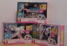 RARE *Vintage* 3 BARBIE ZOO BABIES 2000 Ping Ping Panda Tika Tiger Chika Chimp