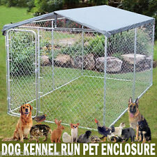 NEW 3m x 2m x 2.1m Dog Chicken  Kennel Run Pet Enclosure Run Animal Fencing