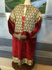 Victorian Mystical Ceremonial Velvet Costume Theatrical Knights of Templar Wicca