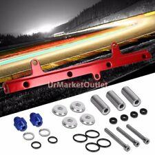 Red Aluminum Fuel Injector Rail Kit For Nissan 89-94 240SX/Silvia SR20DET