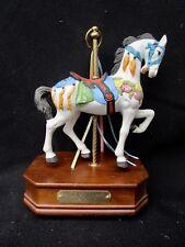 Impulse Giftware Stein & Goldstein C.1900's Porcelain Carousel Musical Horse
