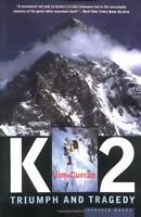 K2: Triumph and Tragedy by Jim Curran Paperback Book The Fast Free Shipping