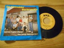 """7"""" Schlager Altenwalder Bierbrummer - In Ernst August's Kneipe MVS RECORDS"""