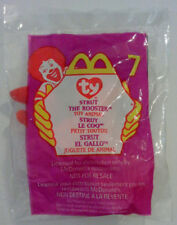 STRUT THE ROOSTER™  9 Ty™ MINI BEANIE BABY McDonalds™ HAPPY MEAL TOY 3f371f6ef639