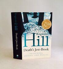 Death's Jest-Book-Reginald Hill-SIGNED!!-TRUE First U.K. Edition/1st Printing!!
