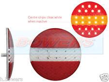 LED Autolamps 12v/24v Rotondo LED SLIM Hamburger Slimline Lampada Posteriore Fanale Posteriore