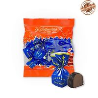 """Legendary Russian chocolate candy with ALCOHOL """" Cosmos """" 200gr. SUPER PRICE"""