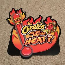 Cheetos Can You Take The Heat Double sided Sign