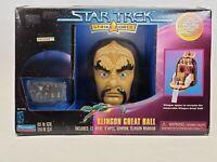 1997 Playmates Star Trek Strike Force Klingon Great Hall Play Set Worf Gowron