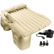 Inflatable Car Mattress MVP Air Bed Rear Seat Sleep Travel Rest Cushion + Pillow