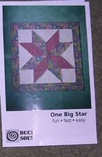 """One Big Star"" Quilt Kit by Duck Soup"