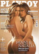 Playboy Hungary 2011/11 - Sue-Ann Clarencia - Zimra Geurts - Fani Pacheco