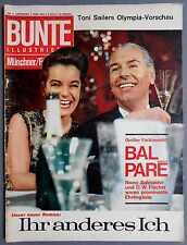 ►BUNTE 6/1964-ROMY SCHNEIDER-GRACE KELLY-JACKIE KENNEDY-ALICE & ELLEN KESSLER...