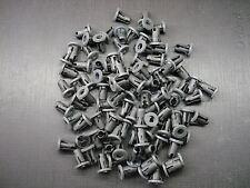 100 pcs 5/32 emblem script name plate tubular barrel nuts sealer fits Ford(Fits: Lynx)