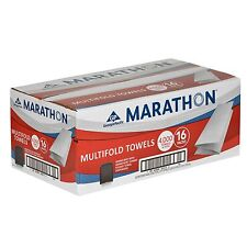Marathon Multifold Paper Towels 16 packs 250 towels 4,000 total hand Towels New