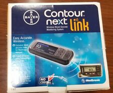 Contour Next Link Wireless Blood Glucose Monitoring System Meter For Medtronic