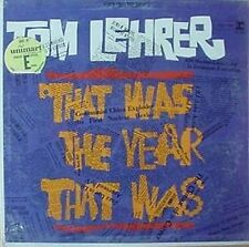 TOM LEHRER -THAT WAS THE WEEK..- REPRISE - STILL SEALED