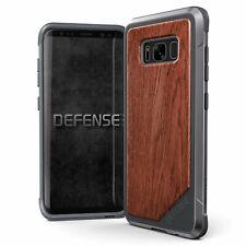 x-doria Defense Lux Case Alu Schutzhülle Grau Braun für Samsung Galaxy S8+ Plus
