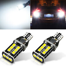 JDM ASTAR 2x Extreme Bright 921 912 LED Back up Reverse Parking Light Bulb WHITE