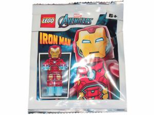Lego - Marvel Avengers - Iron Man - Foil Pack - 242002 - New & Sealed - sh649