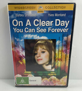ON A CLEAR DAY YOU CAN SEE FOREVER BARBRA STREISAND R4 NEW & SEALED