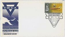 BOATS AVIATION  YMCA - PAPUA NEW GUINEA - FDC COVER 1972