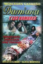 DAMIANA Y LOS HOMBRES (1967) MECHE CARRENO NEW DVD