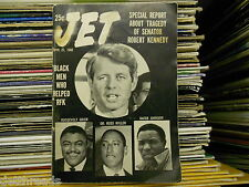 VINTAGE JET MAG -6/20/68- Special Report on Tradgedy Of Robert Kennedy