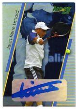 2011 Ace EX Tennis JEAN-RENE LISNARD Auto Card #/99