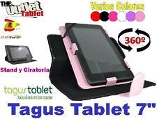 """FUNDA TABLET TAGUS TABLET 7"""" 7 PULGADAS UNIVERSAL GIRATORIA AJUSTABLE"""
