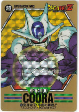 Dragon ball Z Special Prism Card Super Barcode Wars Part 4 Card No. 156 Coora