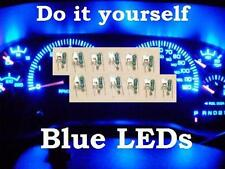 12 BLUE LED GM Instrument Cluster BULB REPLACEMENT KIT . Gauge speedometer  leds