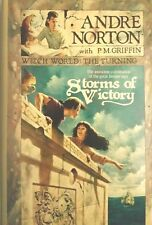 ANDRE NORTON STORMS OF VICTORY WITCH WORLD THE TURNING HCDJ MAR 1991 1ST ED NEW