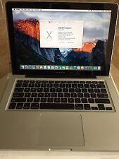 """Mid 2009 Apple Macbook Pro 13"""" 2.26GHz + 8 GB RAM + 240 GB HD + 1 TB Drive DVD"""