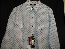 BROOKS AND DUNN COLLECTION Panhandle Slim Size Medium Men's Western Shirt NEW