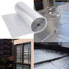 Double Foil Layer Aluminum Bubble Insulation Loft Wall Floor Caravan 1.2m x 40m