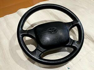 Toyota Supra Steering Wheel SRS JZA80 MK4 2JZ OEM JDM