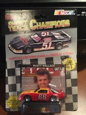 Racing Champions Rusty Wallace #66 w/Card & Display 1:64 1993 SHORT TRACK CHAMPS