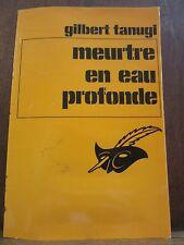 Gilbert Tanugi: Meurtre en eau profonde/Le Masque N°1699 Champs-Elysées
