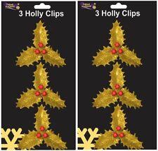 Décorations de sapin de Noël guirlandes dorées