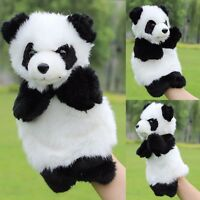 SOFT Panda Animal Hand Puppet Kids Plush Doll Storytelling Educational Preschool