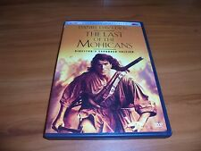 The Last of the Mohicans (DVD, 2004, Widescreen) Daniel Day-Lewis Used