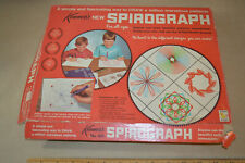 Vintage Kenner Spirograph 401 Art Set 1967 Board Paper