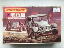 Matchbox - PK-88 WW2 Krupp Protz Kfz.69 3,7cm Panzerabwehrkanone 1/76